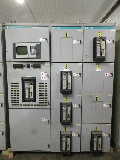 Siemens Low Voltage Switchgear by Bullock Breakers